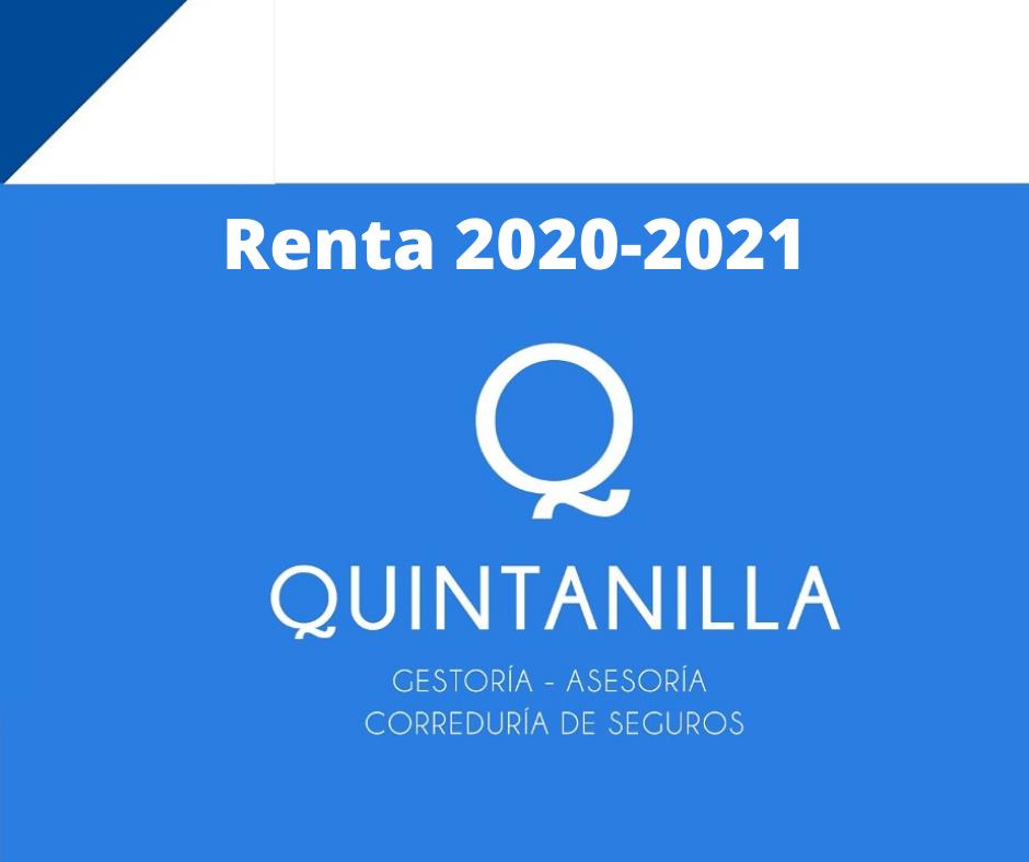 Renta 2020-2021