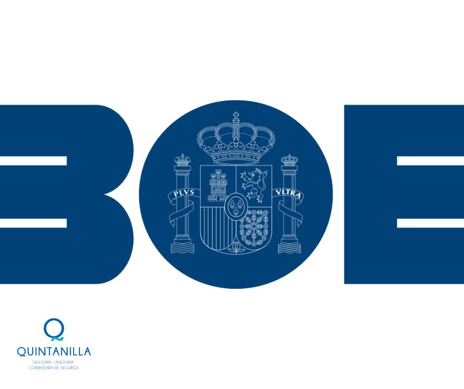 BOE Real Decreto-ley 5/2021, de 12 de marzo, de medidas extraordinarias de  apoyo a la solvencia empresarial en respuesta a la pandemia de la COVID-19.